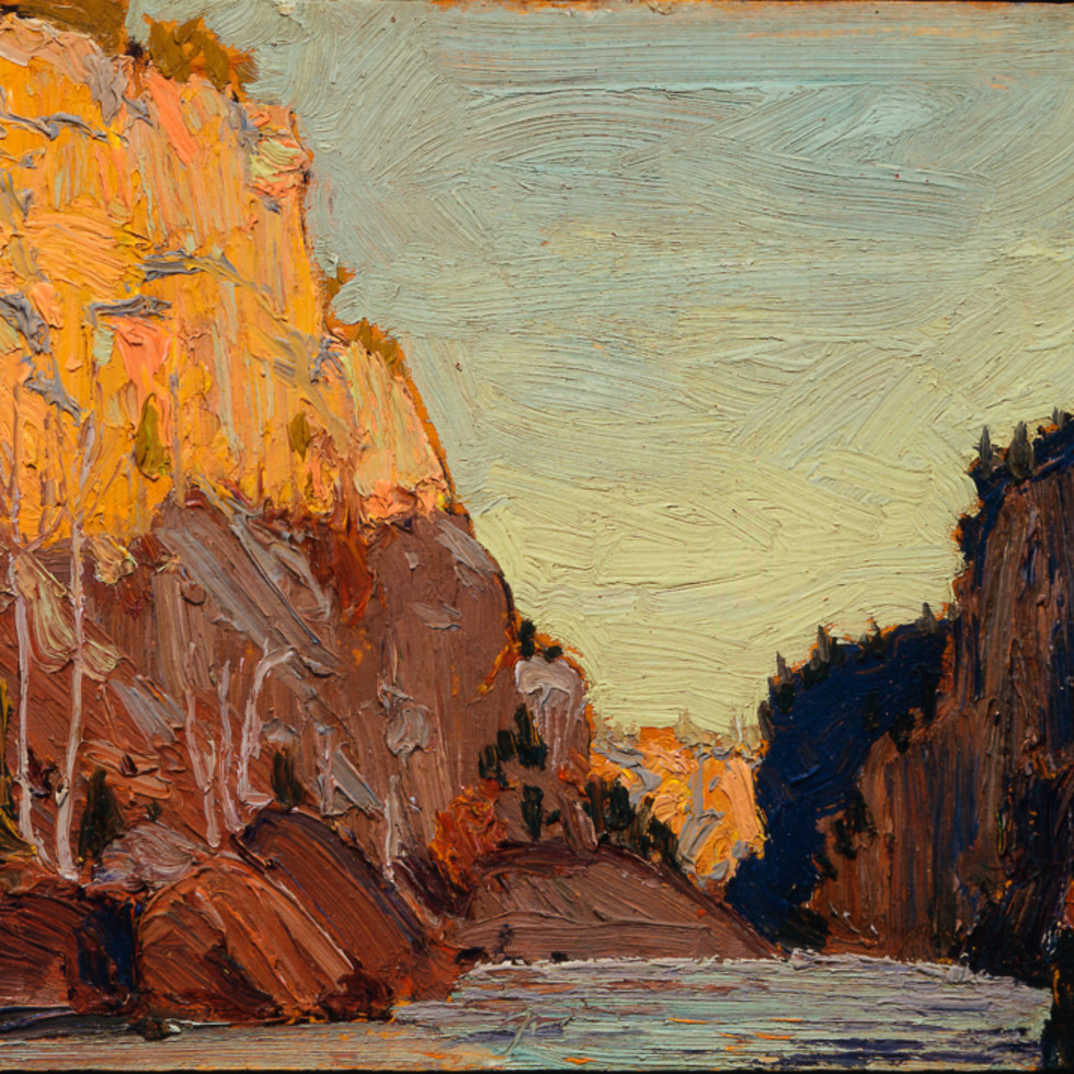 Petawawa Gorges - Gorges Petawawa-Tom Thomson, O.S.A.