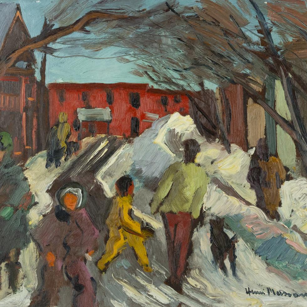 Lower Town-Henri L. Masson, LL.D., R.C.A., O.S.A.