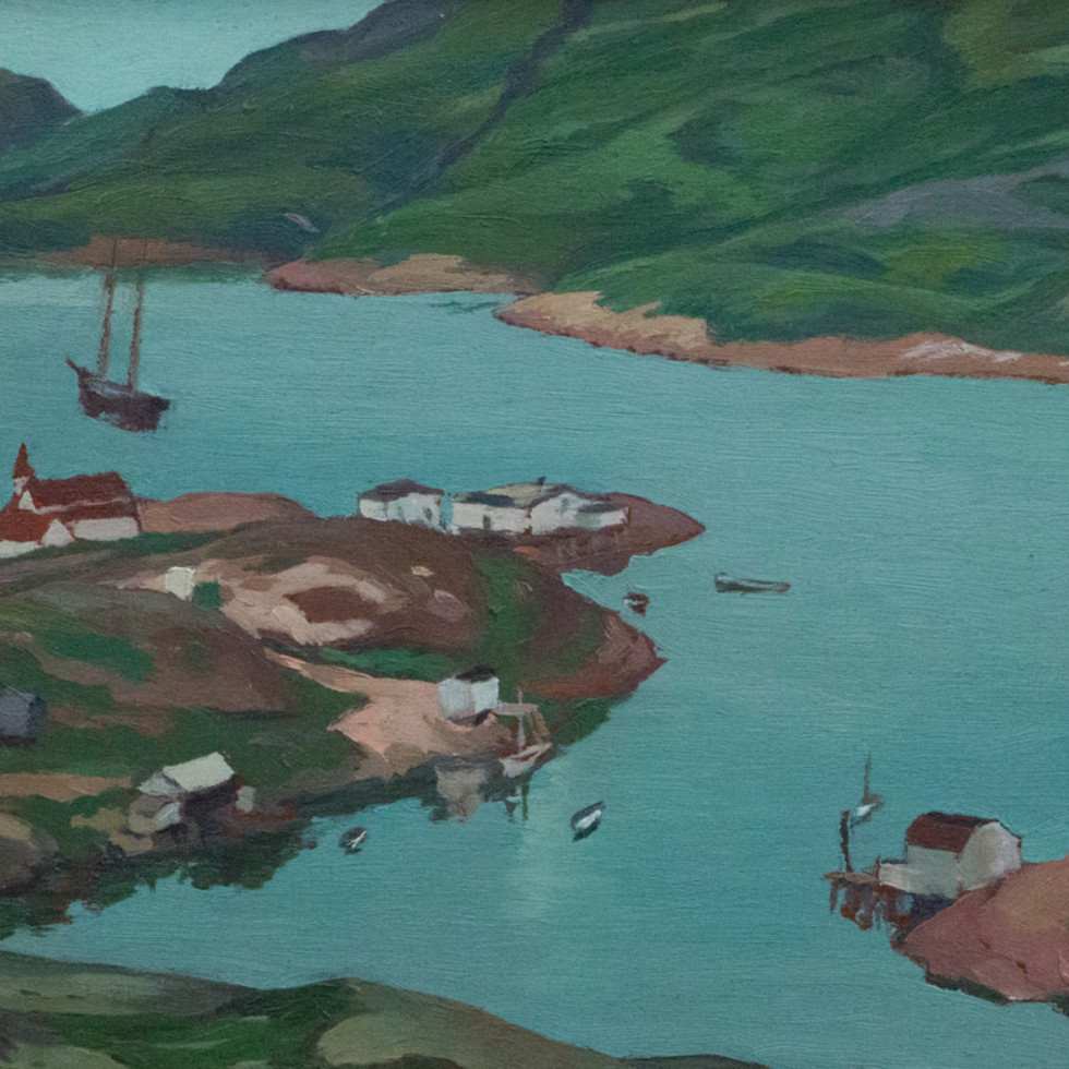 Mutton Bay-Edwin Holgate
