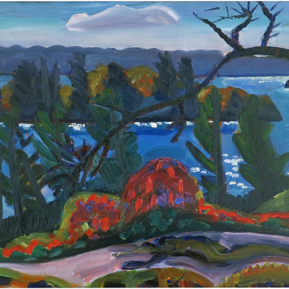 View of the Needle's Eye from Fernbank-Prudence Heward