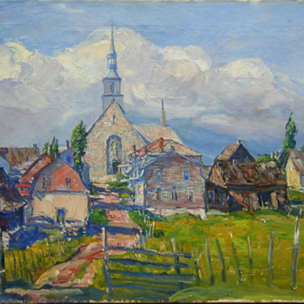 Village, Charlevoix County - Village, Charlevoix-Frederick W. Hutchison, R.C.A.