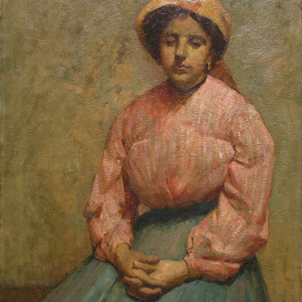 Portrait (Probably a self-portrait) - Portrait (probablement un autoportrait)-Emily Coonan