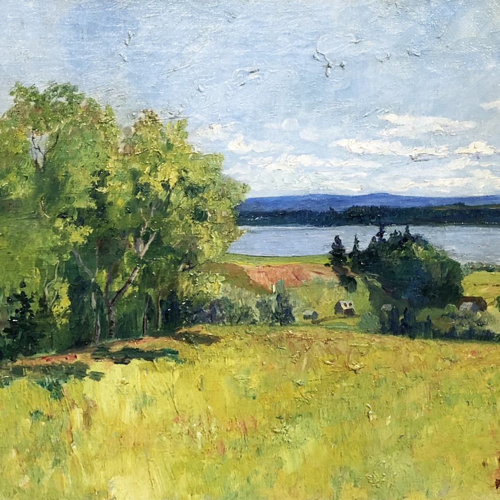 Looking over the Island of Orleans, Quebec-Maurice Cullen
