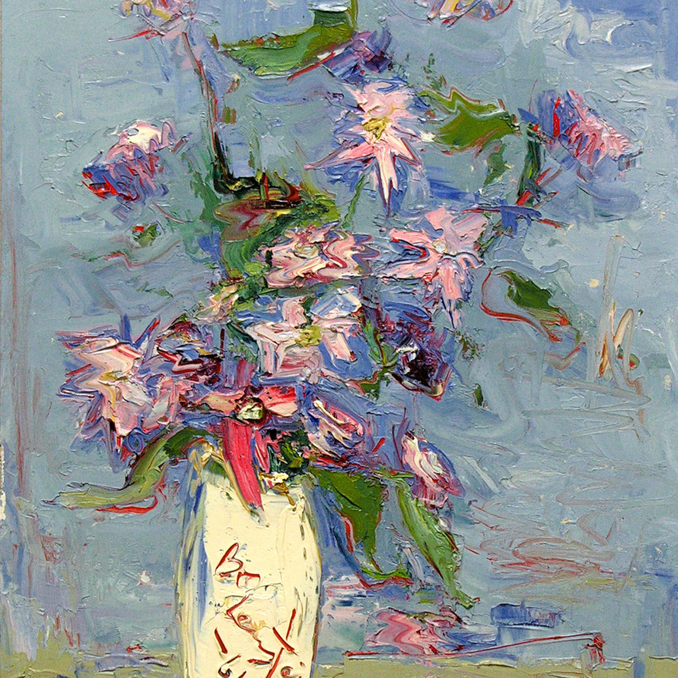 Still Life of Flowers-Sam Borenstein