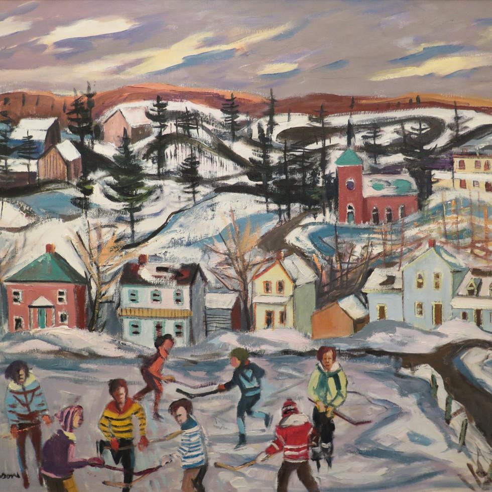 Hockey, Val Des Monts-Henri L. Masson, LL.D., R.C.A., O.S.A.