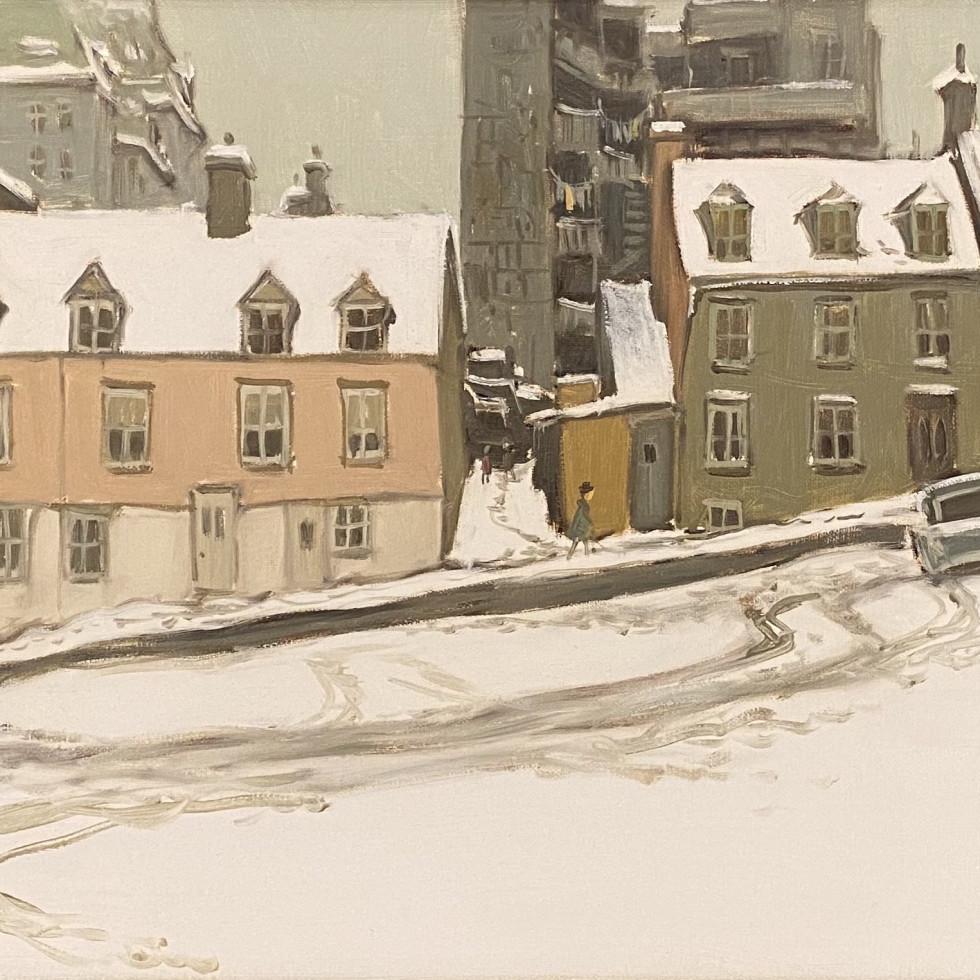 Parking Lot Rue O'Connell Quebec-John Little