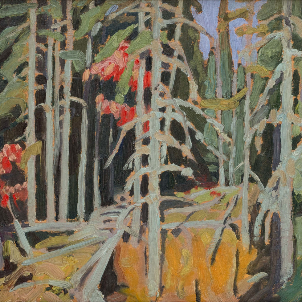Wood Interior, Algoma-Lawren S. Harris, C.C., LL.D.