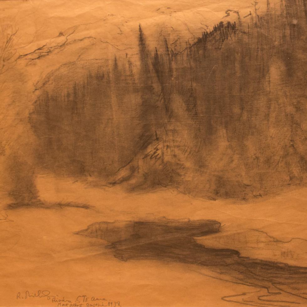 Rivière Sainte-Anne, Mont-Albert, Gaspésie-René Richard