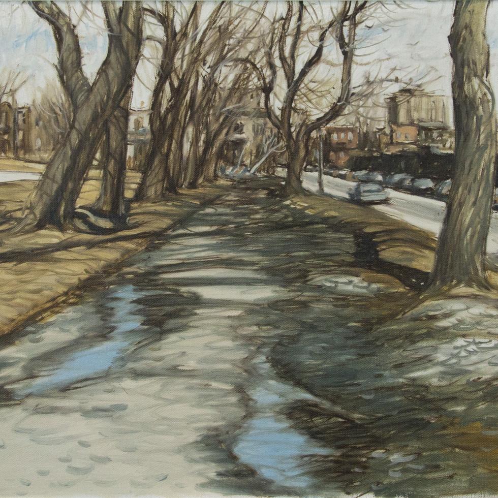 Le printemps à Rue Duluth et rue Esplanade, Fletcher's Field-John Little, R.C.A.