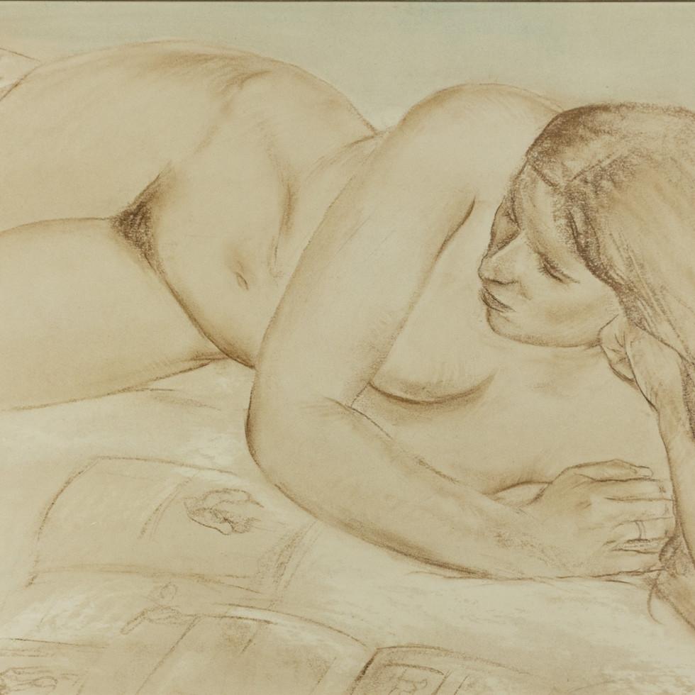 [Nude] -Louis Muhlstock
