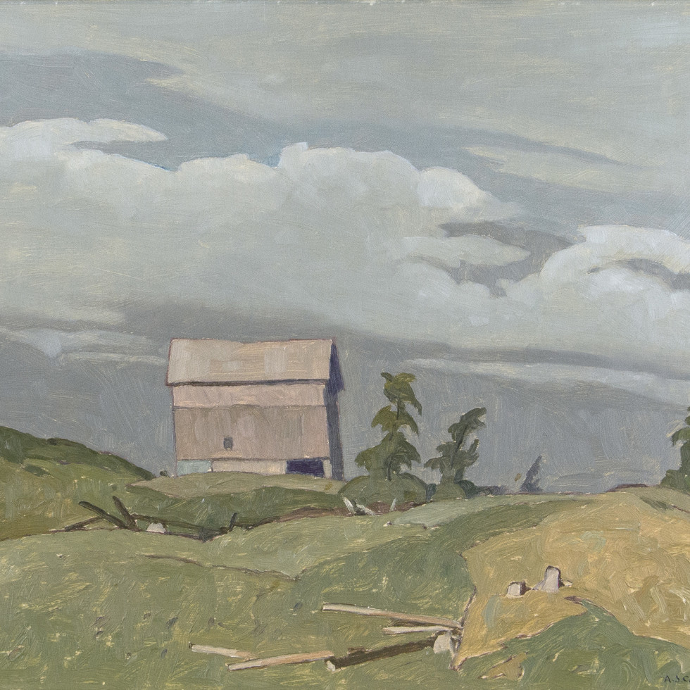 Farm at Fairmount-A.J. Casson, C.M., O.Ont., LL.D., R.C.A.