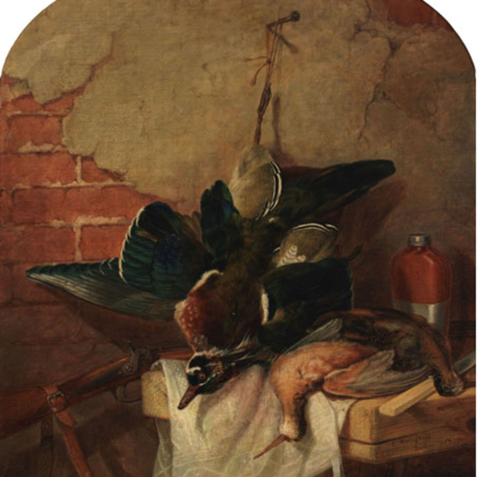 Still Life of Game - Nature morte-Cornelius Krieghoff
