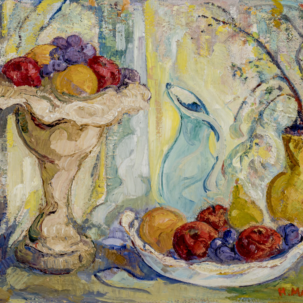 Still Life with Fruit-H. Mabel May