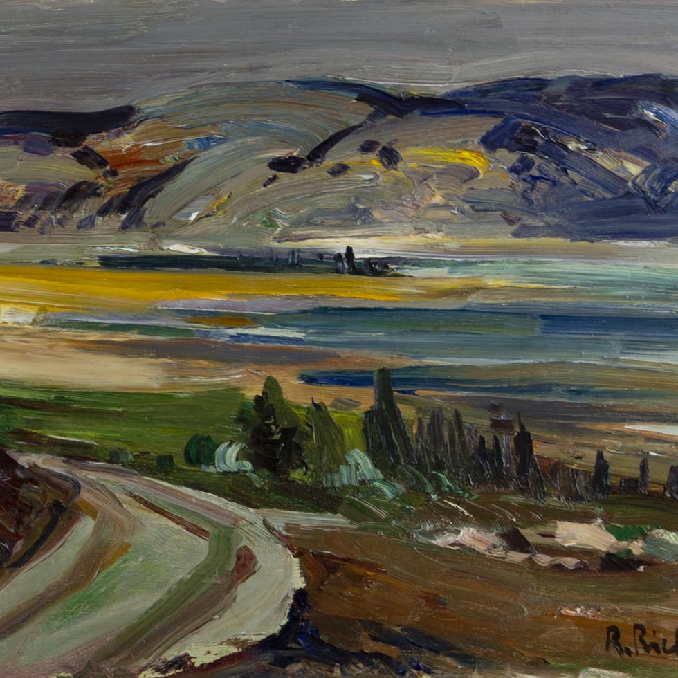 Paysage Charlevoix-René Richard, C.M., R.C.A.