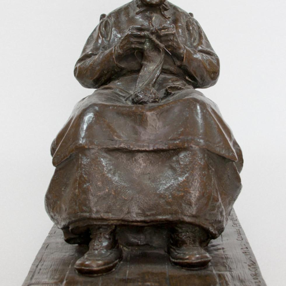 La compagne du vieux pionnier canadien-Marc-Aurèle Suzor-Coté