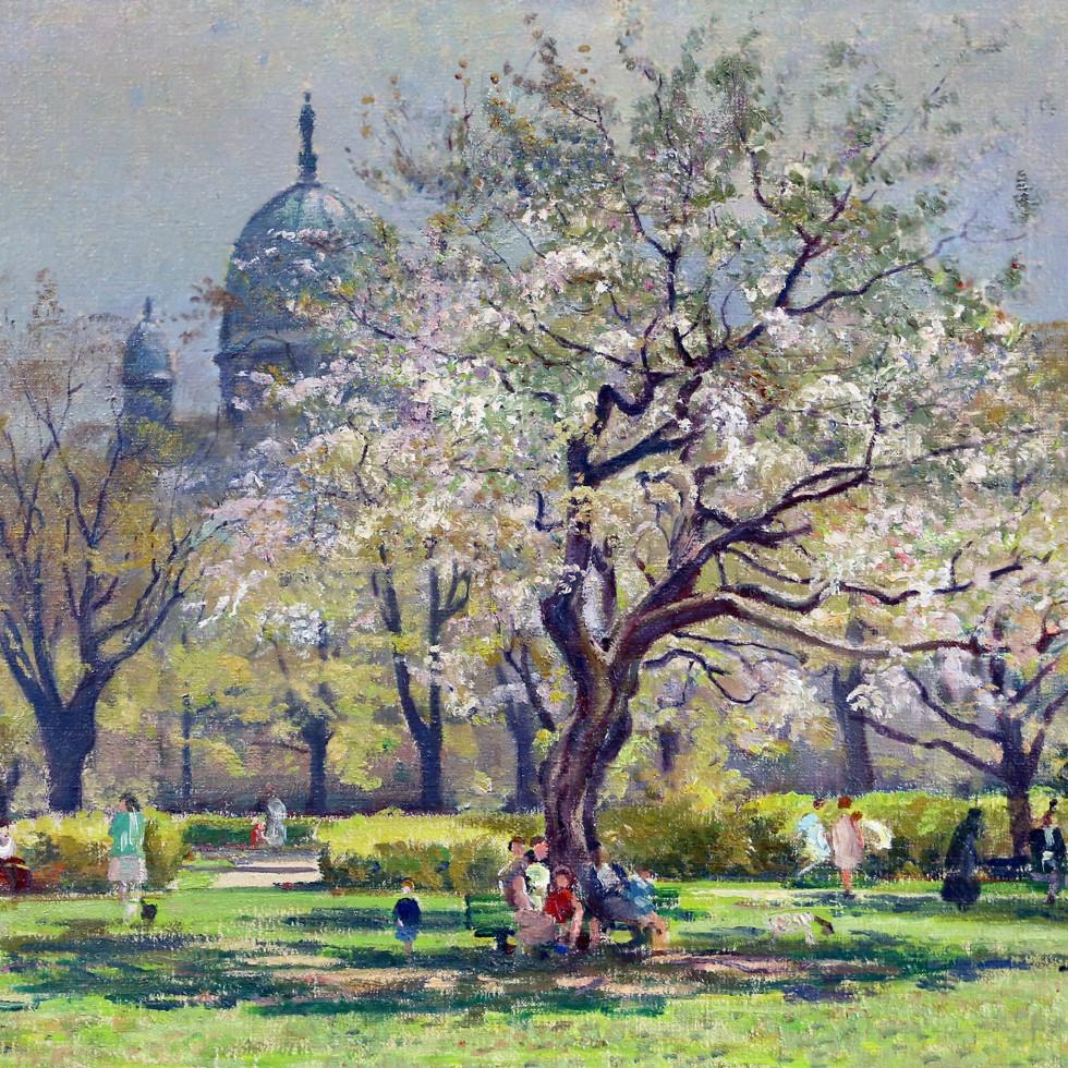Queen Elizabeth Gardens, Montreal-Robert Pilot, R.C.A., R.A., LL.D.