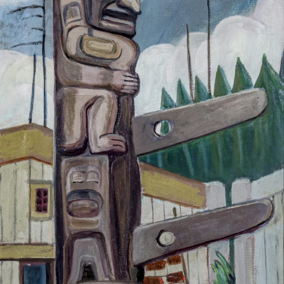 Haida Totem-Emily Carr