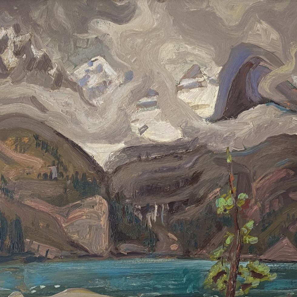Lake O'Hara, Canadian Rockies-Arthur Lismer