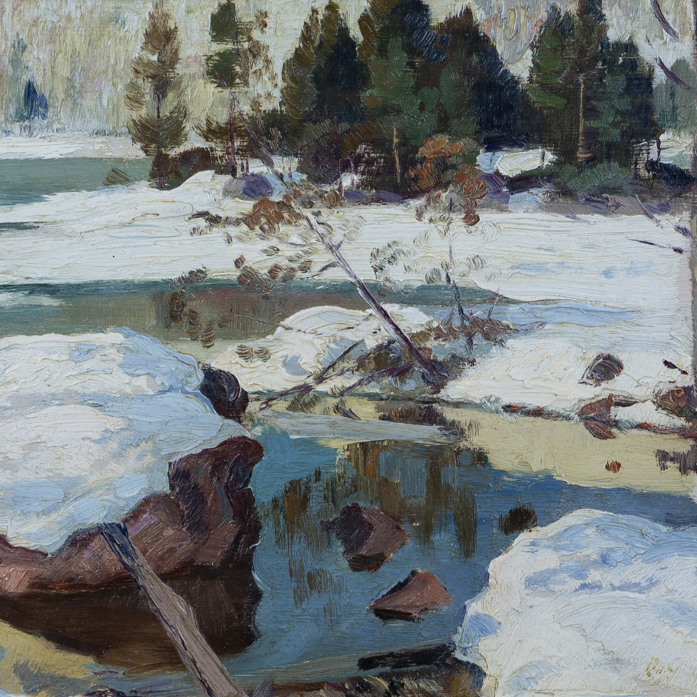Early Spring, Val Morin-Robert Pilot
