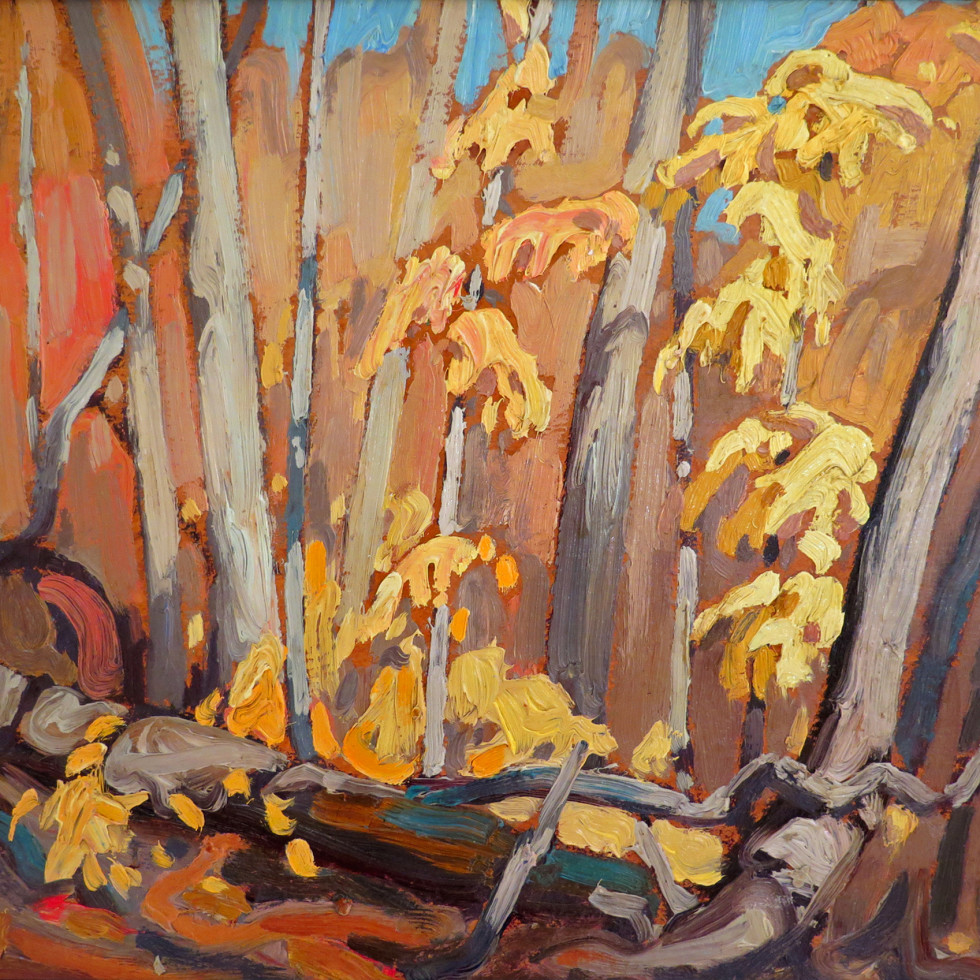 Autumn Woodland (Algoma)-Lawren S. Harris