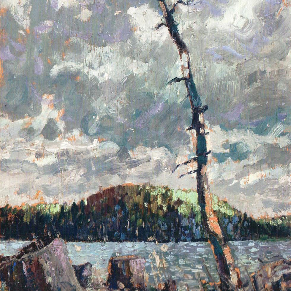Sketch for Ragged Lake, Algonquin Park-Arthur Lismer, C.C., LL.D., R.C.A., O.S.A.