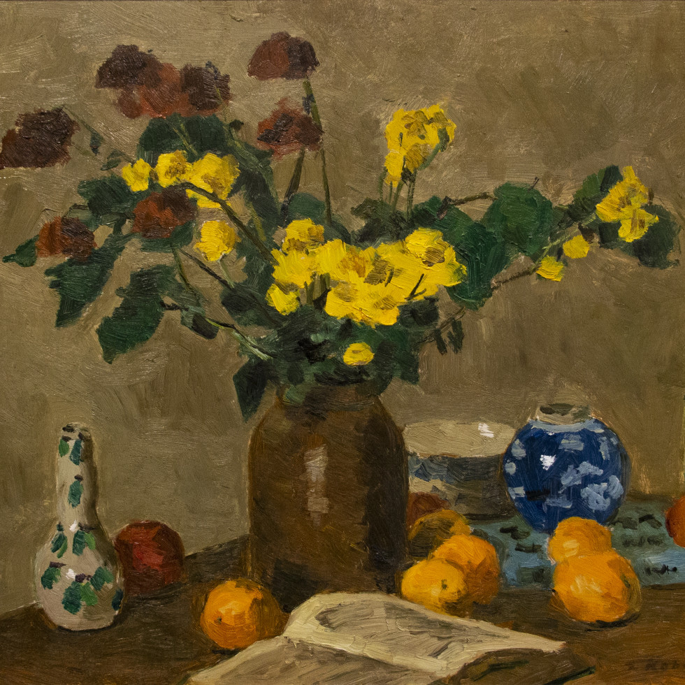 Still Life with Bouquet-Goodridge Roberts, LL.D, R.C.A., O.S.A.