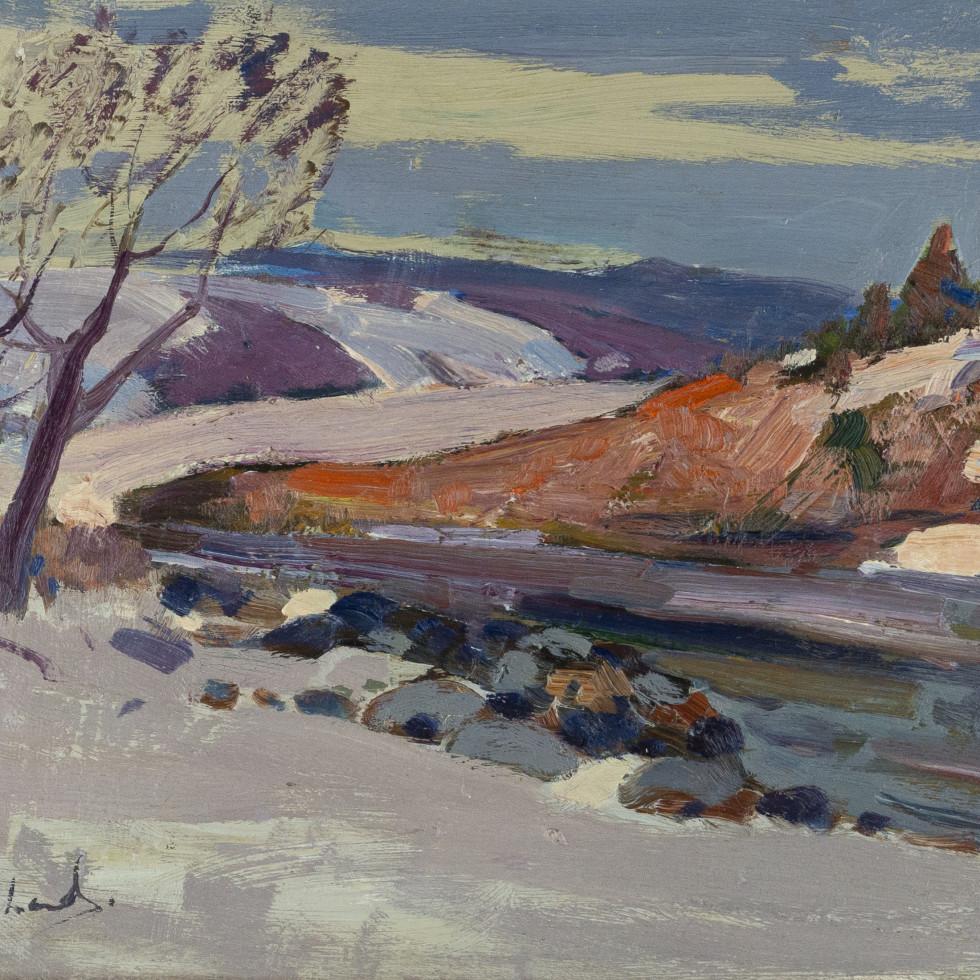 Baie St. Paul-René Richard, C.M., R.C.A.