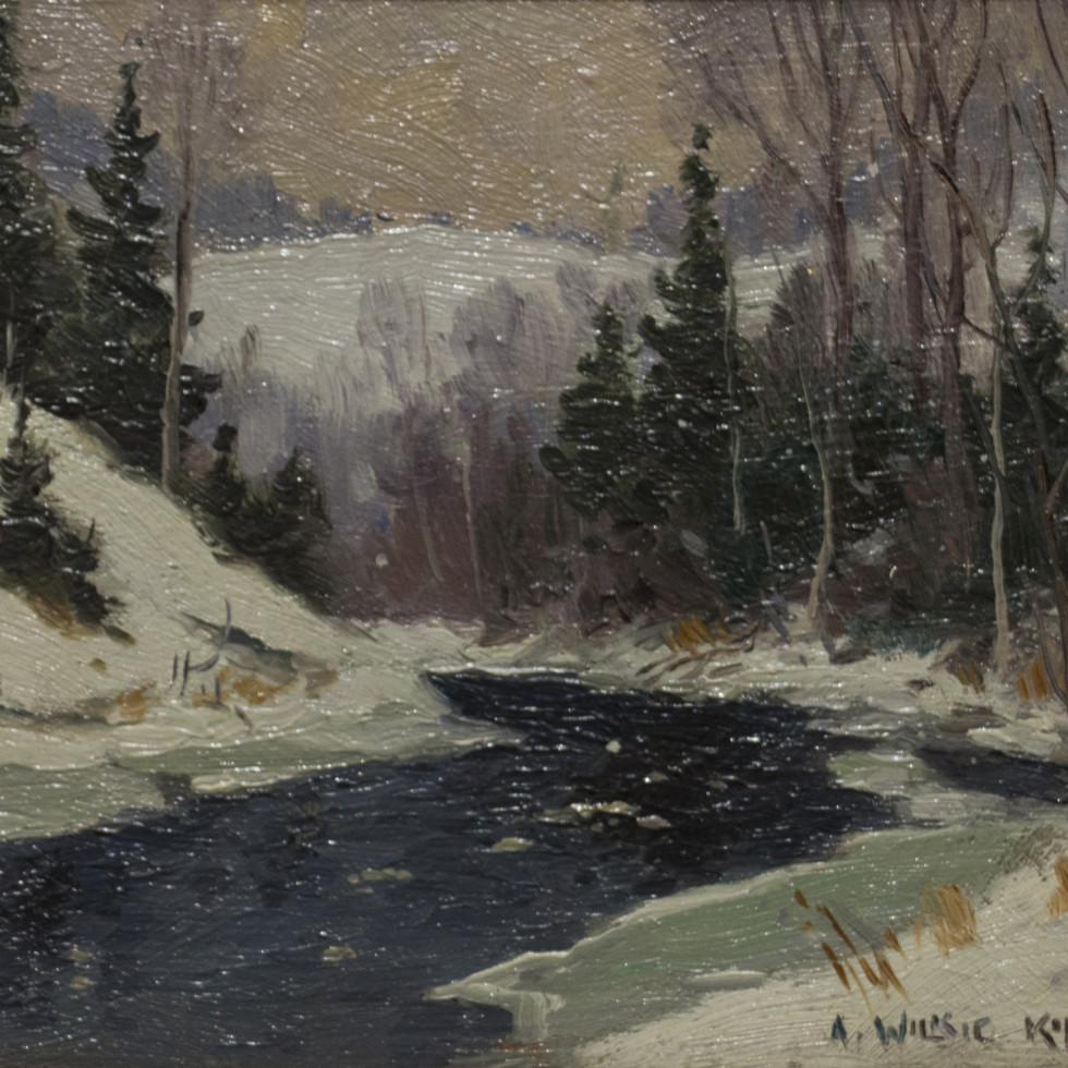 March Day, Laurentians-A. Wilkie Kilgour