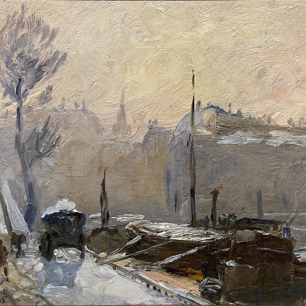 Winter, Paris-Maurice Cullen