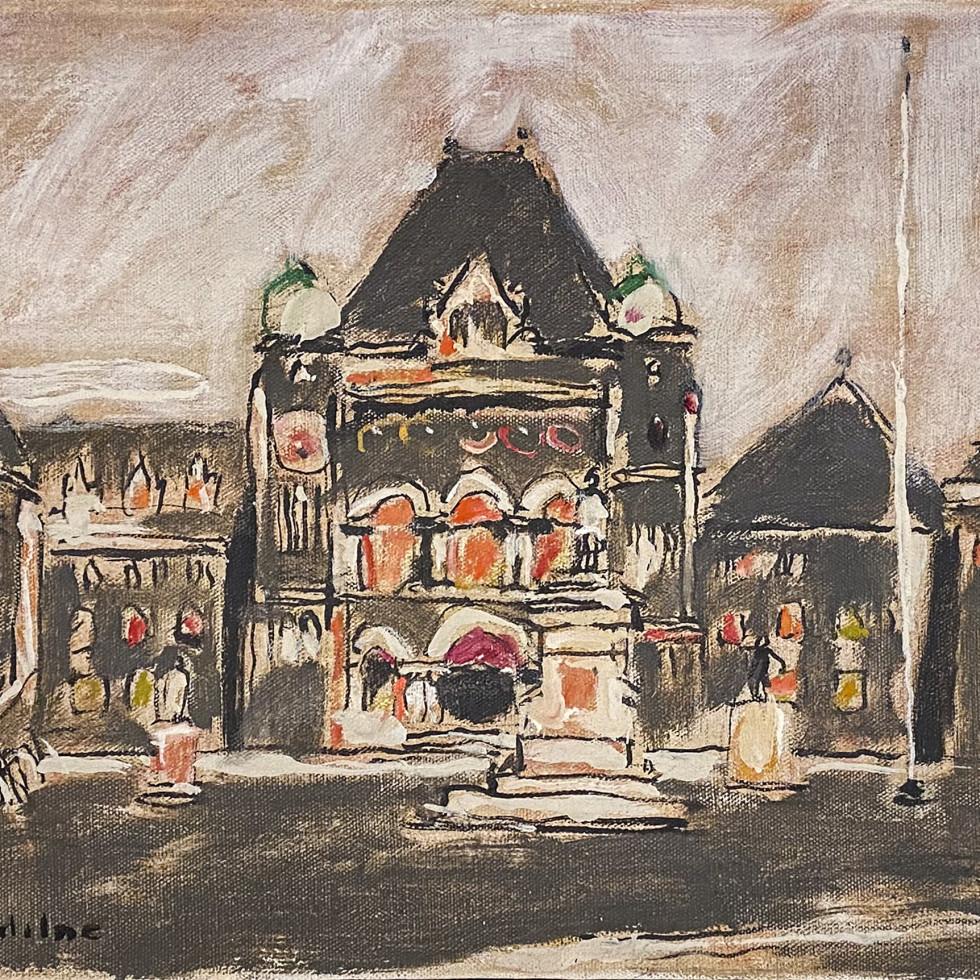 Parliament Buildings at Queen's Park-David Milne