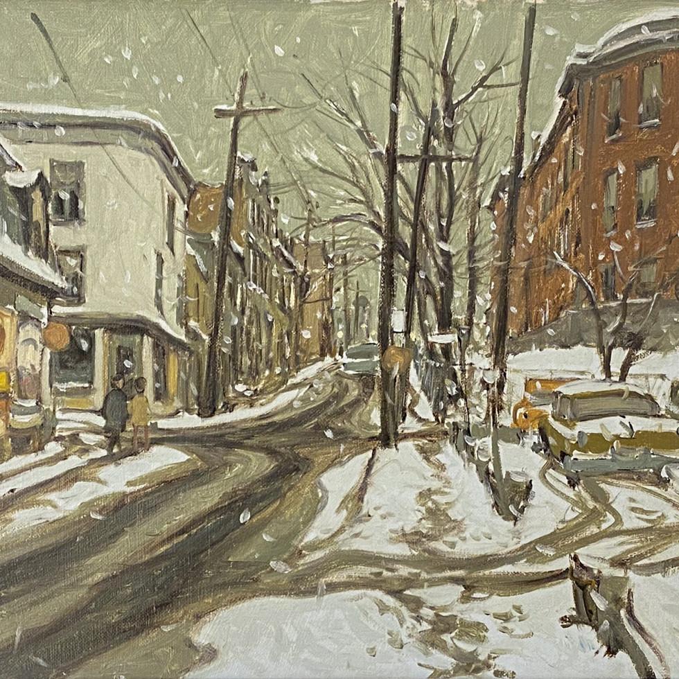 Rue St. Dominique at la Gauchetière, Montreal-John Little