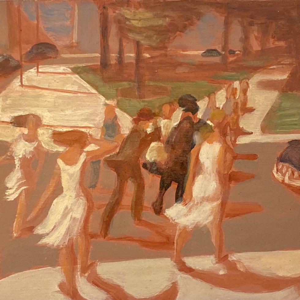 Pedestrians-Philip Surrey