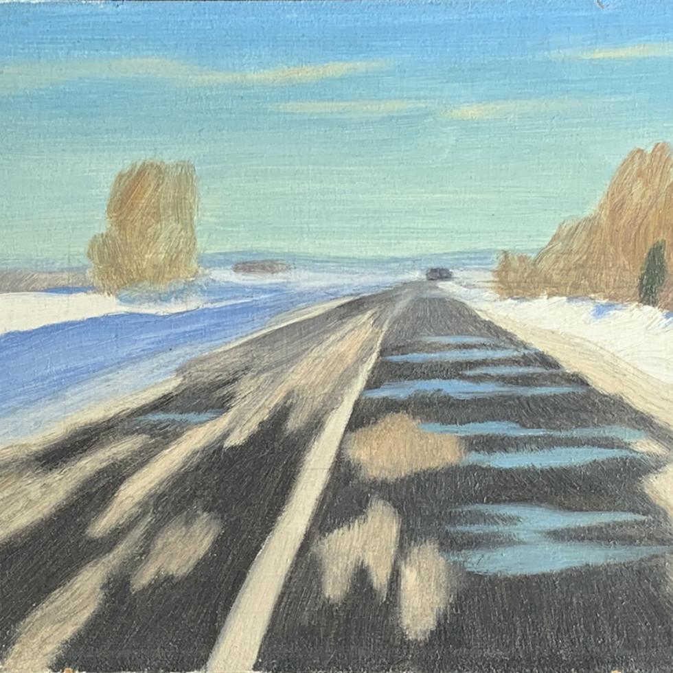 Road to St-Rémi-Philip Surrey, C.M., LL.D., R.C.A.