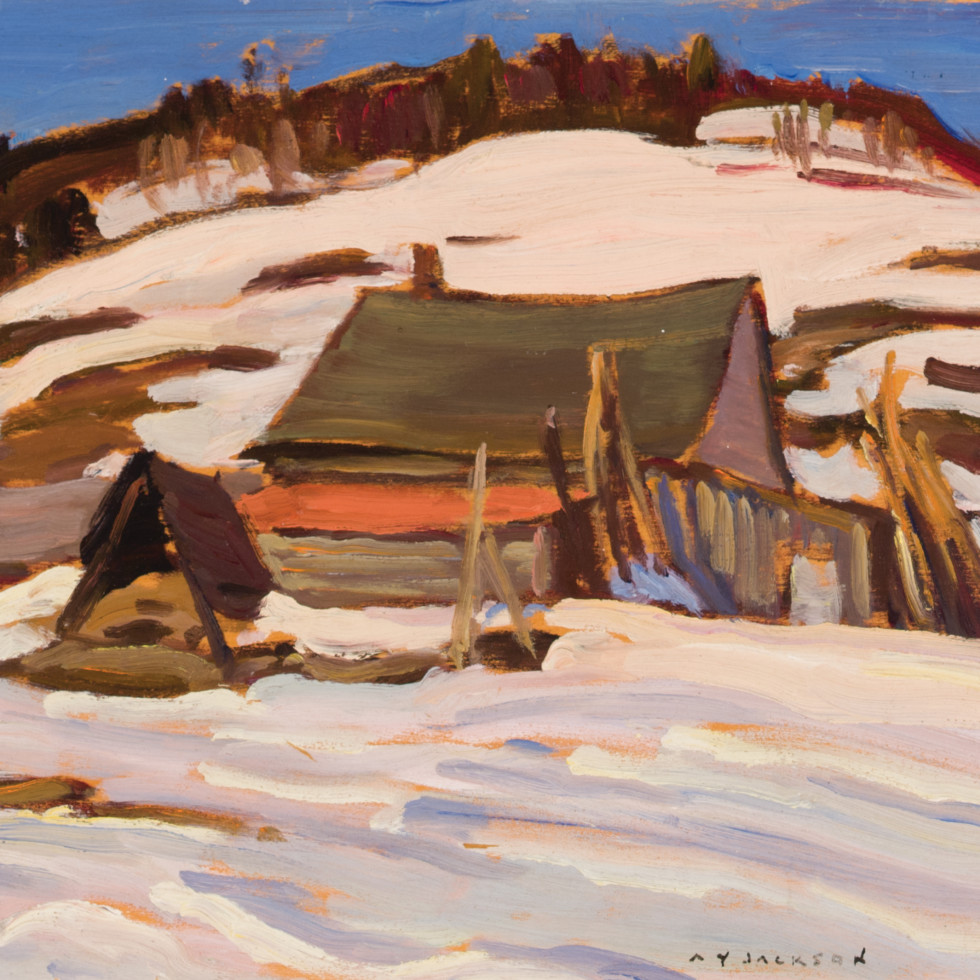 Farm at Port Au Persil-A.Y. Jackson