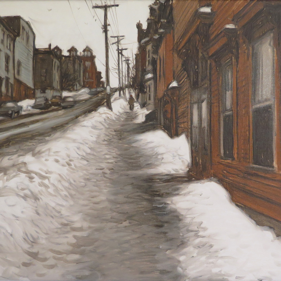 Wentworth Street St. John New Brunswick-John Little, R.C.A.