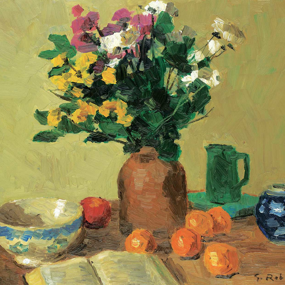 Still Life with Tabletop-Goodridge Roberts
