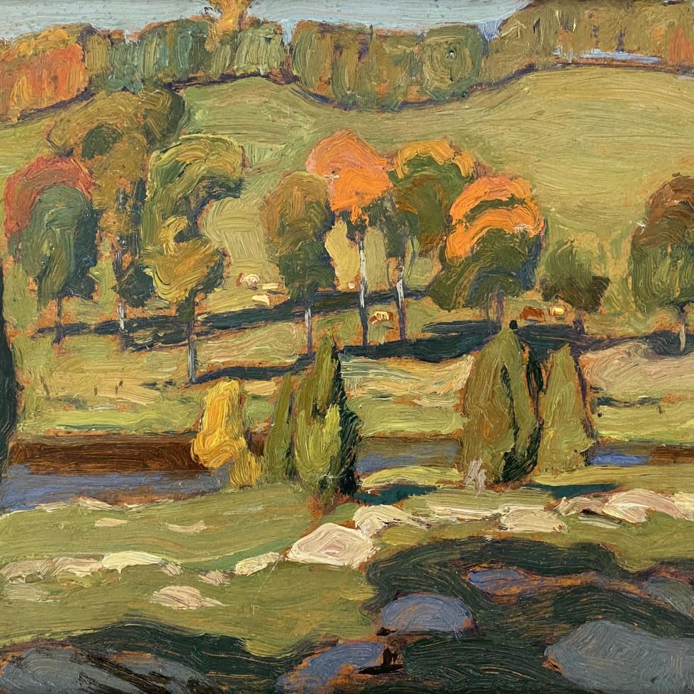River Pastures, Gull River-J.E.H. MacDonald