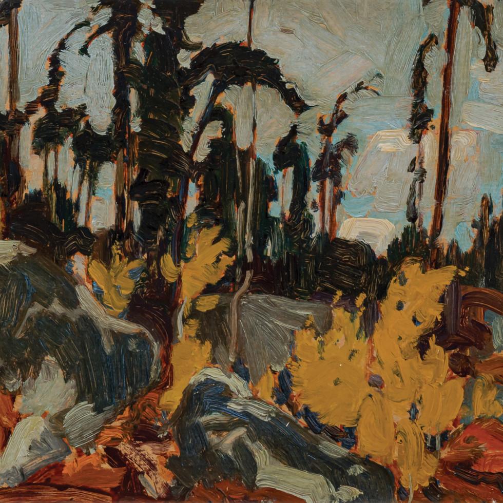 Rocky Woods, Algoma-J.E.H. MacDonald