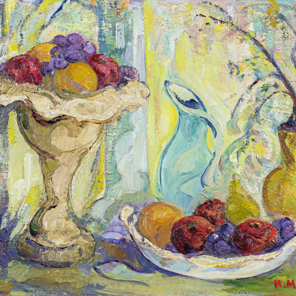 Still Life with Fruit-H. Mabel May, A.R.C.A.