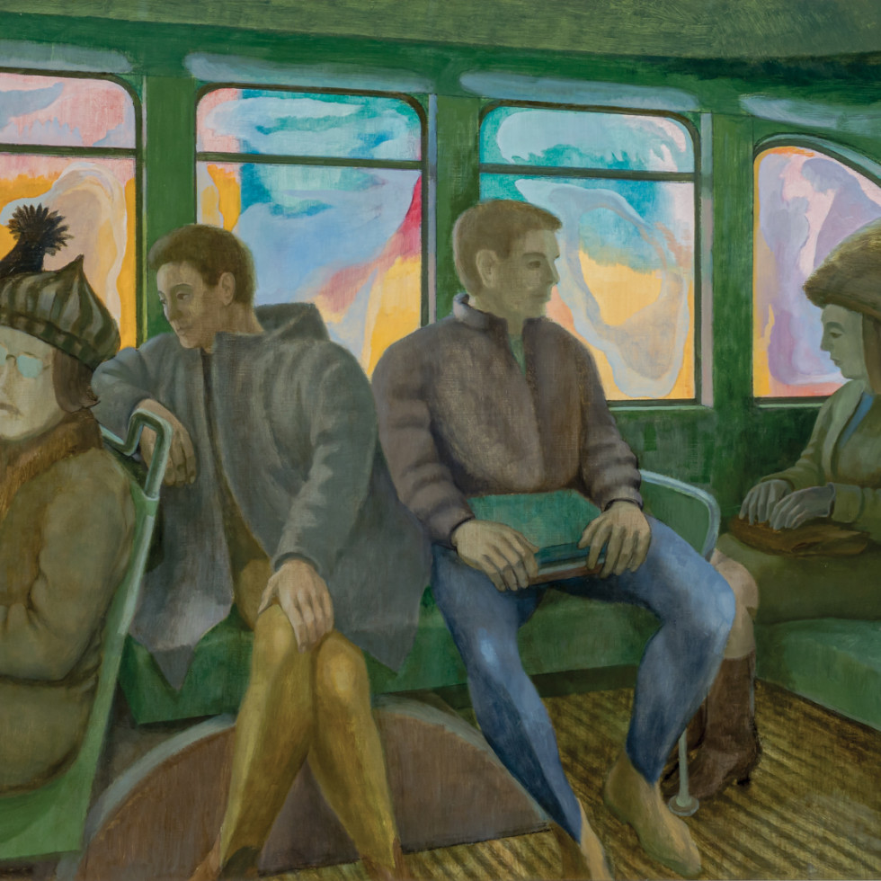 Bus Interior-Philip Surrey