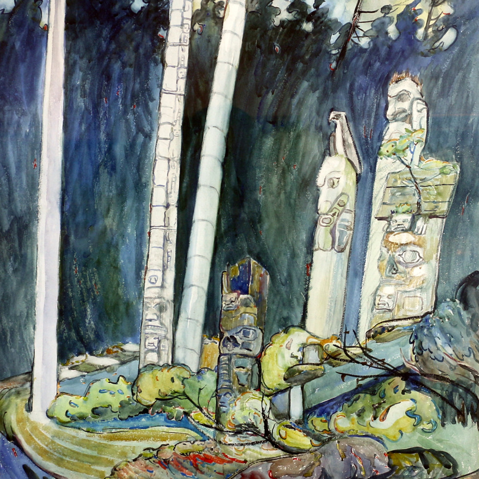 Emily Carr-Canadian b.1871