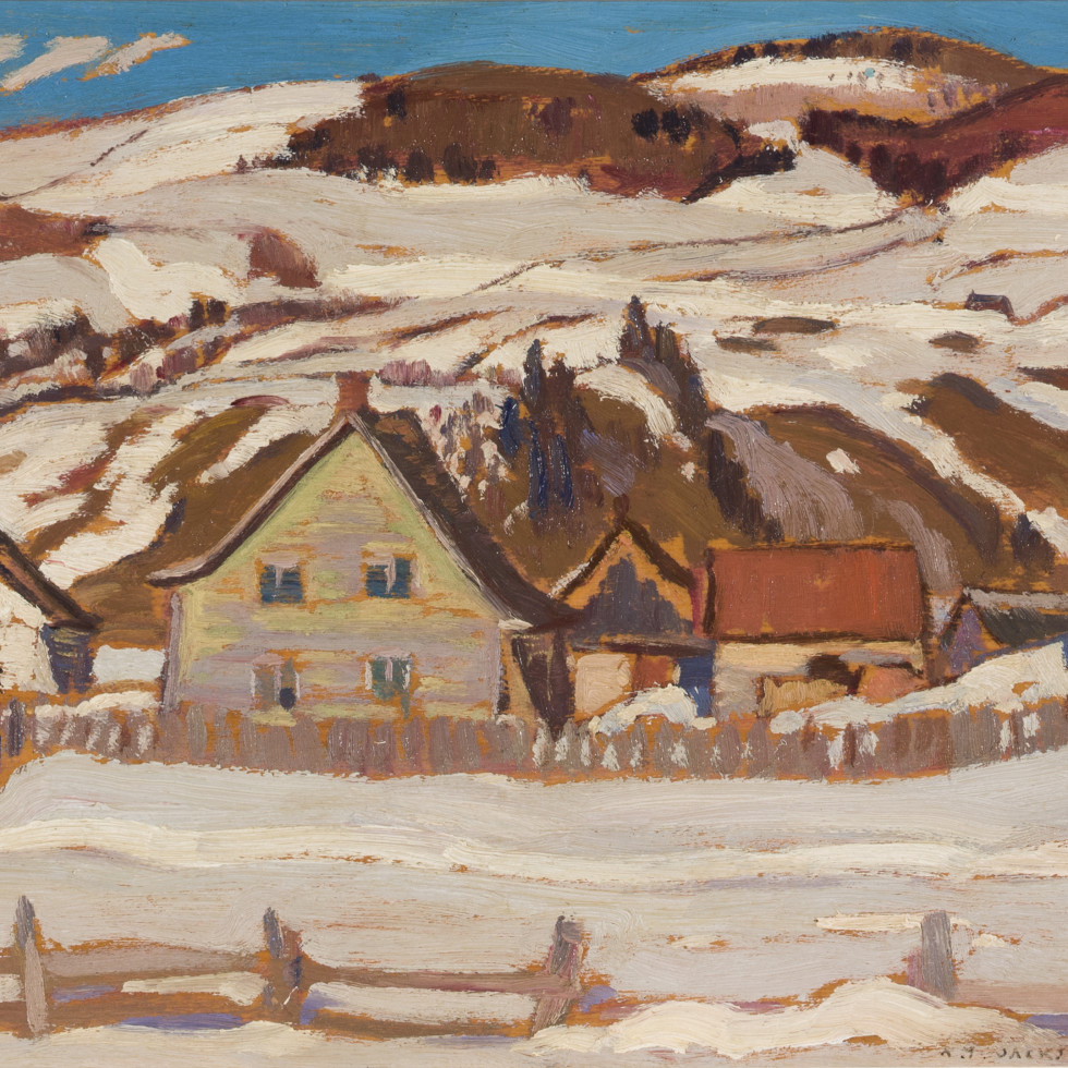 Farm, St-Lawrence, North Shore-A.Y. Jackson