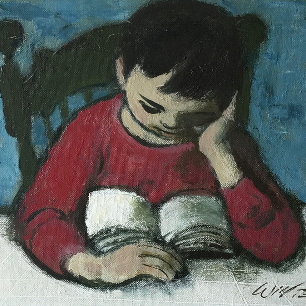 The reader - The reader (Le Liseur)-William Winter, O.S.A., R.C.A.