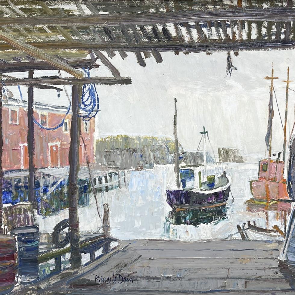 Under the Cod Stage, Port de Grave-Bruce Le Dain