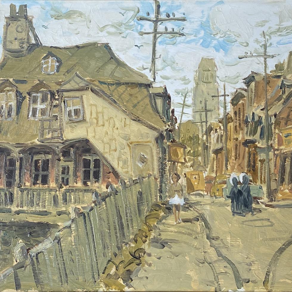 Rue Artillerie at D'Artigny, Quebec-John Little