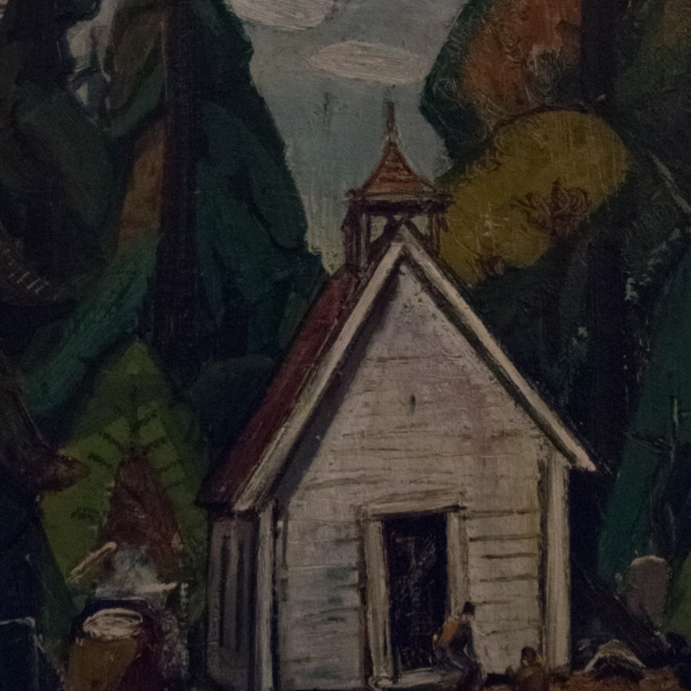 Indian Church-Arthur Lismer, C.C., LL.D., R.C.A., O.S.A.