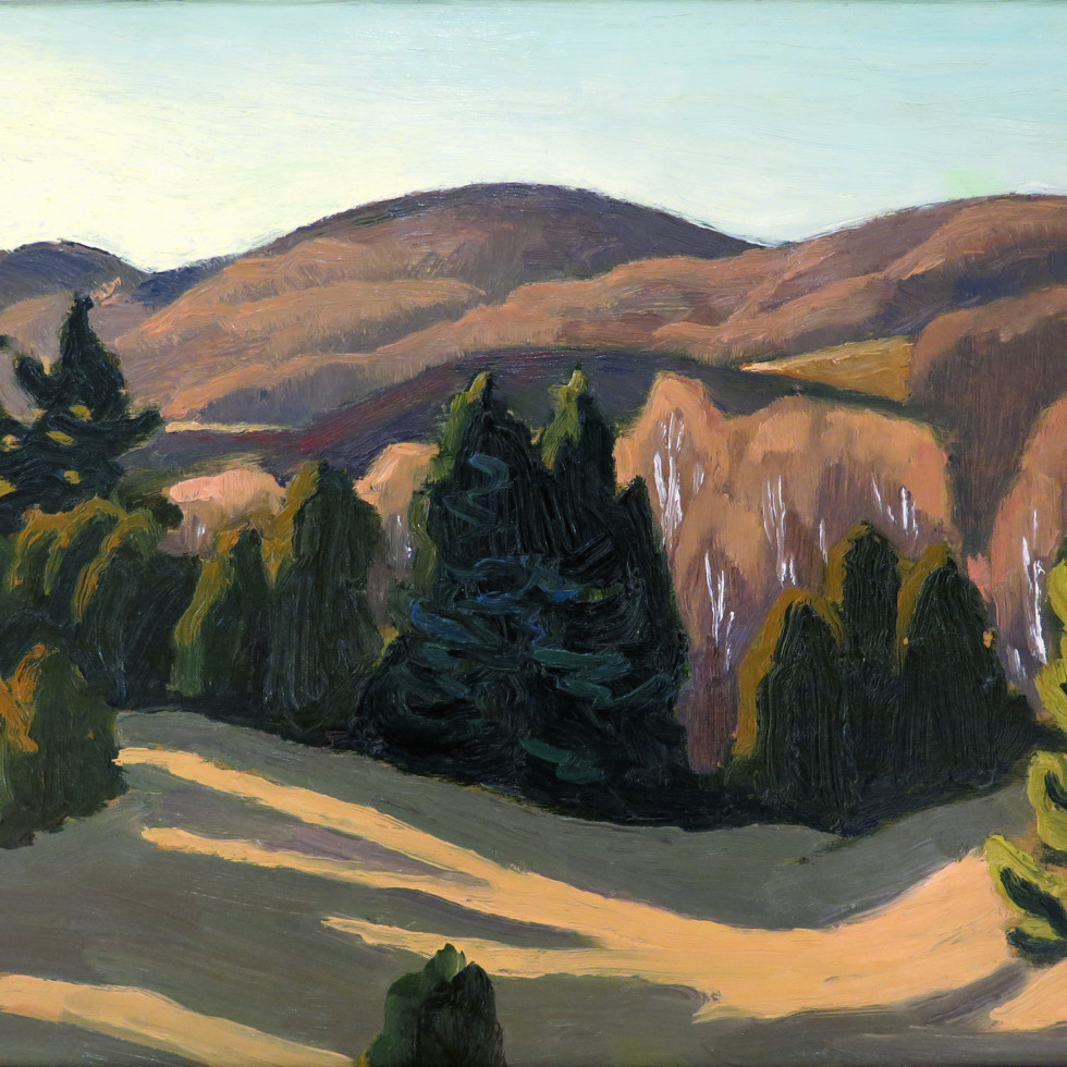 Near Morin Heights-Edwin Holgate