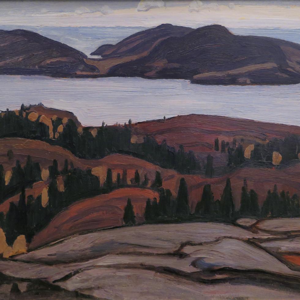 Pic Island, Lake Superior-Lawren S. Harris, C.C., LL.D.