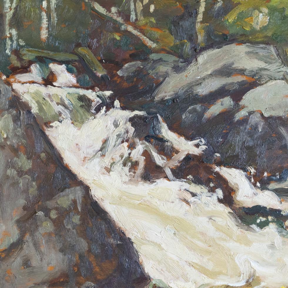 Mountain Stream, Laurentians-Edwin Holgate