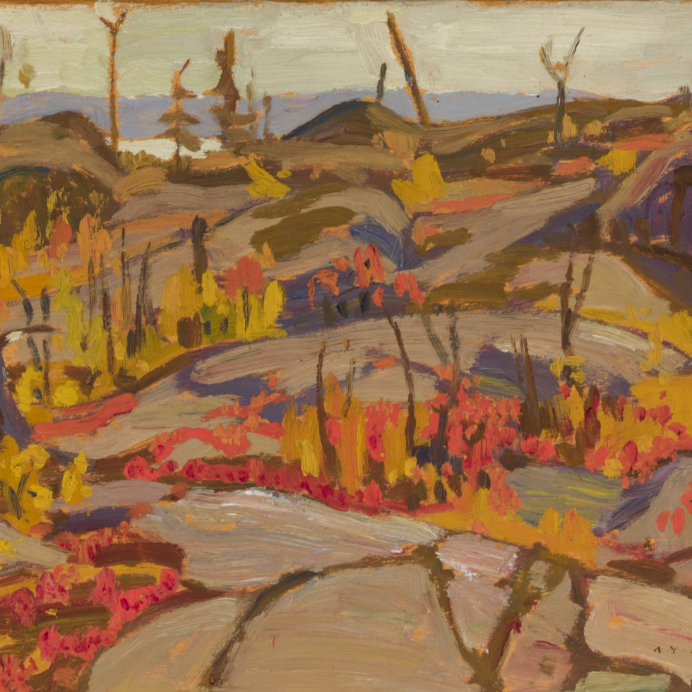 Wild Cherries and Huckleberries, Lake Superior-A.Y. Jackson
